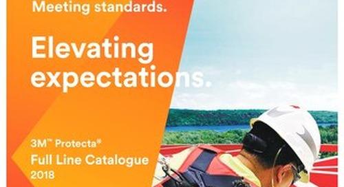 3M Protecta Full Line Catalogue 2018