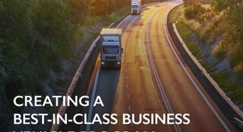 Natural Foods Distributor Creates a Best-In-Class Business Vehicle Program