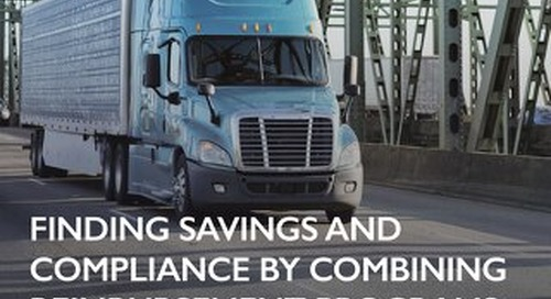 Large Foodservice Distributor Finds Savings and Compliance by Combining Reimbursement Programs