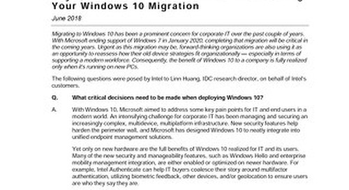 Key questions to ask about your fleet during your Windows 10 migration