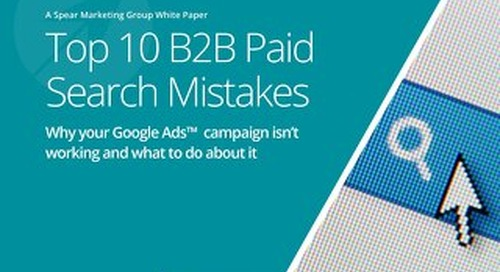 Top 10 B2B Paid Search Mistakes