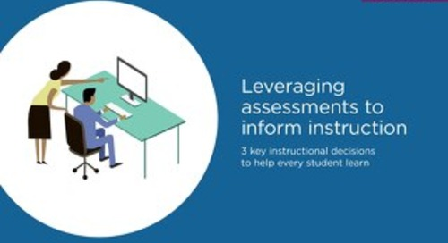 Leveraging Assessments to Inform Instruction