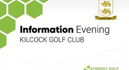 Kilcock Golf Club - Information Meeting Presentation