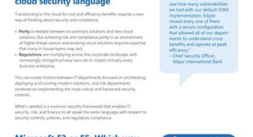 Assessing and managing cloud security risks