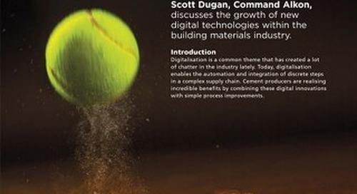 """Technology is a Game Changer"" Featured in World Cement Magazine"