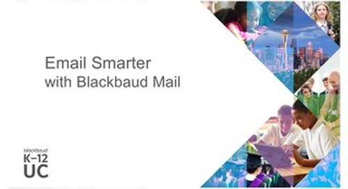 Sending Smarter Email with Blackbaud Mail
