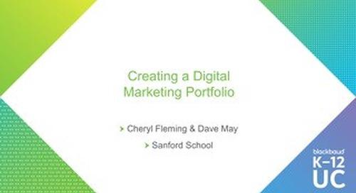 Creating a Digital Marketing Portfolio