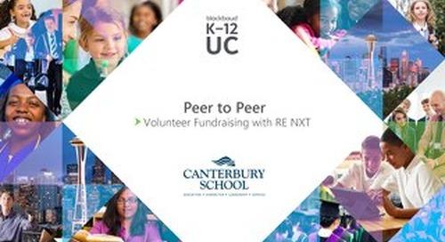 Peer to Peer: Volunteer Fundraising with reNXT