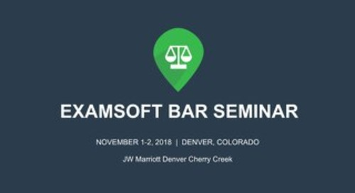ExamSoft Full Suite Overview for Law