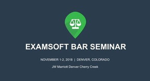 ExamSoft Reporting for Law
