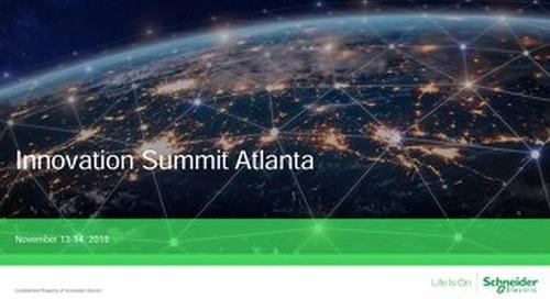 Innovation Summit Atlanta - ESS for Investors