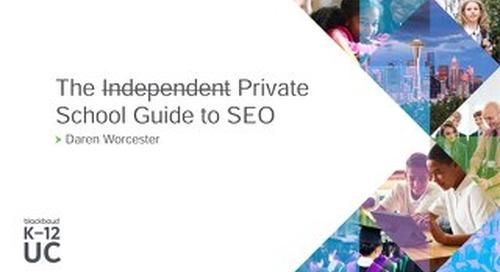 The Private School Guide to SEO