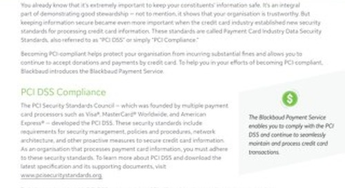 Payment Services Datasheet 2018