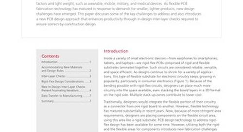 Automating Inter-Layer In-Design Checks in Rigid-Flex PCBs