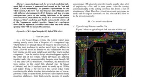 Efficient Methodology for Modeling Structure of High Speed Long Transmisison Lines