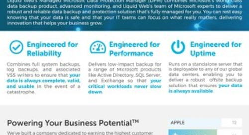 Liquid Web Managed Microsoft DPM