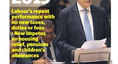 MALTATODAY 23 October 2018 Budget