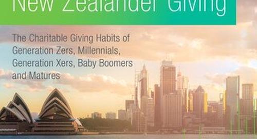 Next Generation Of Giving Australia & New Zealand 2018