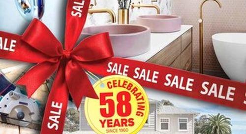 58th Birthday Sale Celebrations
