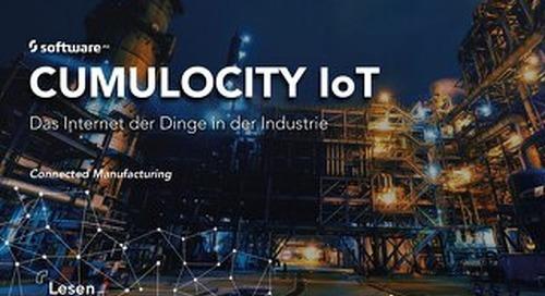 Cumulocity IoT: Das Internet der Dinge in der Industrie