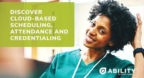 Discover Cloud-Based Scheduling, Attendance and Credentialing