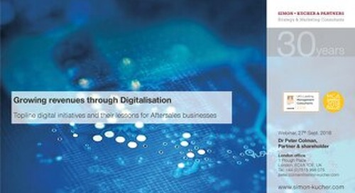 [Slides] Growing Revenue through Digitalisation