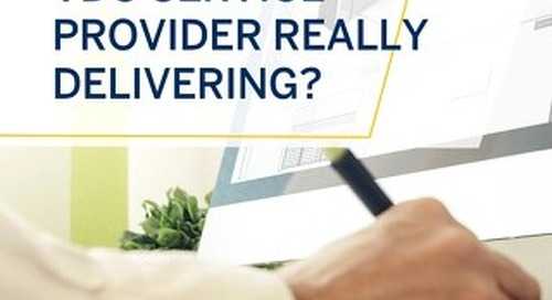 What's Your VDC Service Provider Really Delivering?