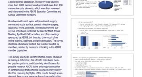 ASCRS Clinical Survey 2018