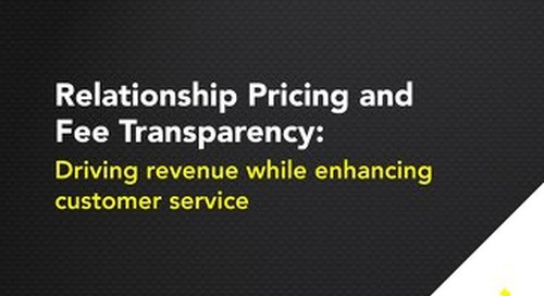 Relationship Pricing and Fee Transparency
