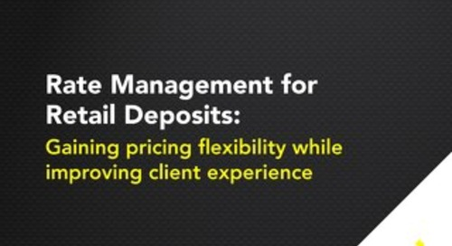 Rate Management for Retail Deposits
