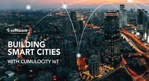 Building Smart Cities with Cumulocity IoT
