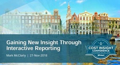 Gaining New Insight Through Reporting