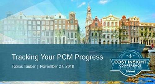 Design Track - Tracking PCM Progress - EU