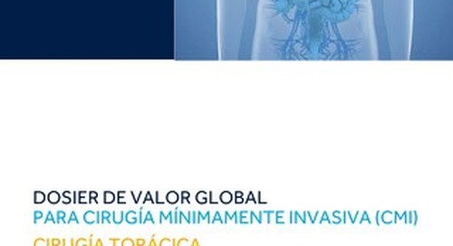 DOSIER DE VALOR GLOBAL - CIRUGIA TORACICA
