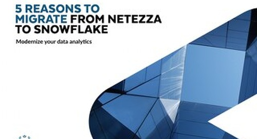 Snowflake: Everything You Love about Netezza (And Much More)