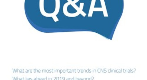 Q&A with CNS Expert, Dr. Christoph U. Correll