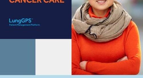 Brochure: LungGPS™ Patient Management Platform