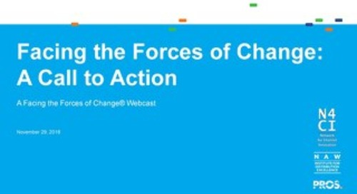 [Slides] Facing the Forces of Change and a Call to Action