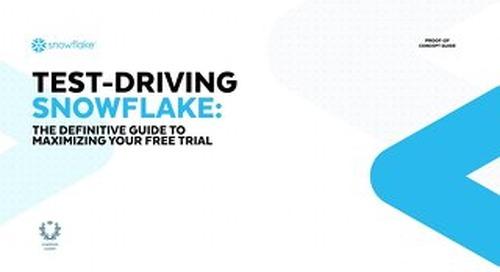 Test-Driving Snowflake