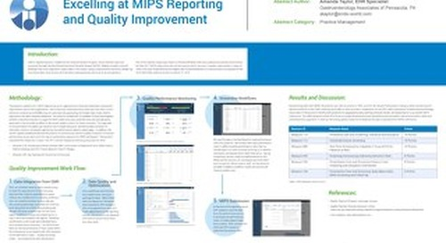 Scientific Poster - Excelling at MIPS Reporting and Quality Improvement
