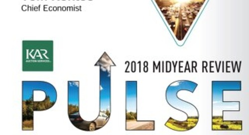 Auto Insights: 2018 Midyear Review