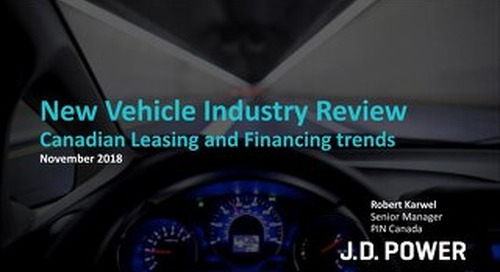 Auto Insights: New Vehicle Industry Preview