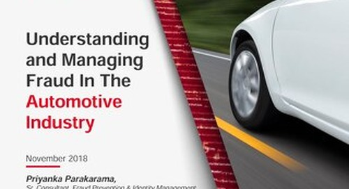 Auto Insights: Understanding and Managing Fraud