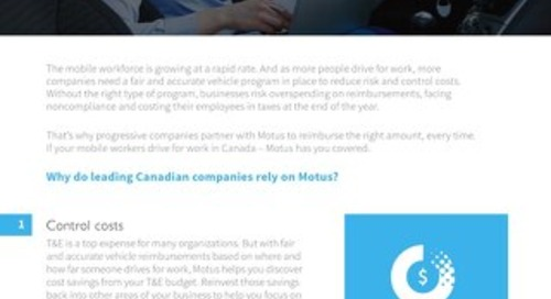 4 Reasons Why Progressive Canadian Companies Partner With Motus