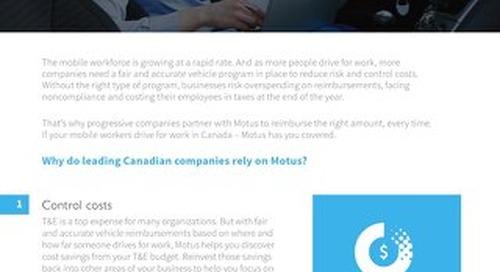 4 Reasons Why Progressive Canadian Companies Partner With Motus