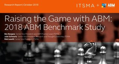 Raising The Game with ABM