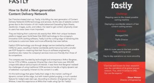 Case Study: Fastly