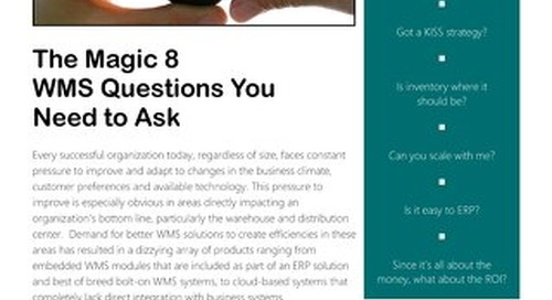 The Magic 8 Questions