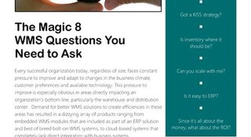 The Magic 8 Questions