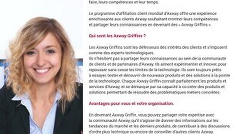 Affiliation client Axway